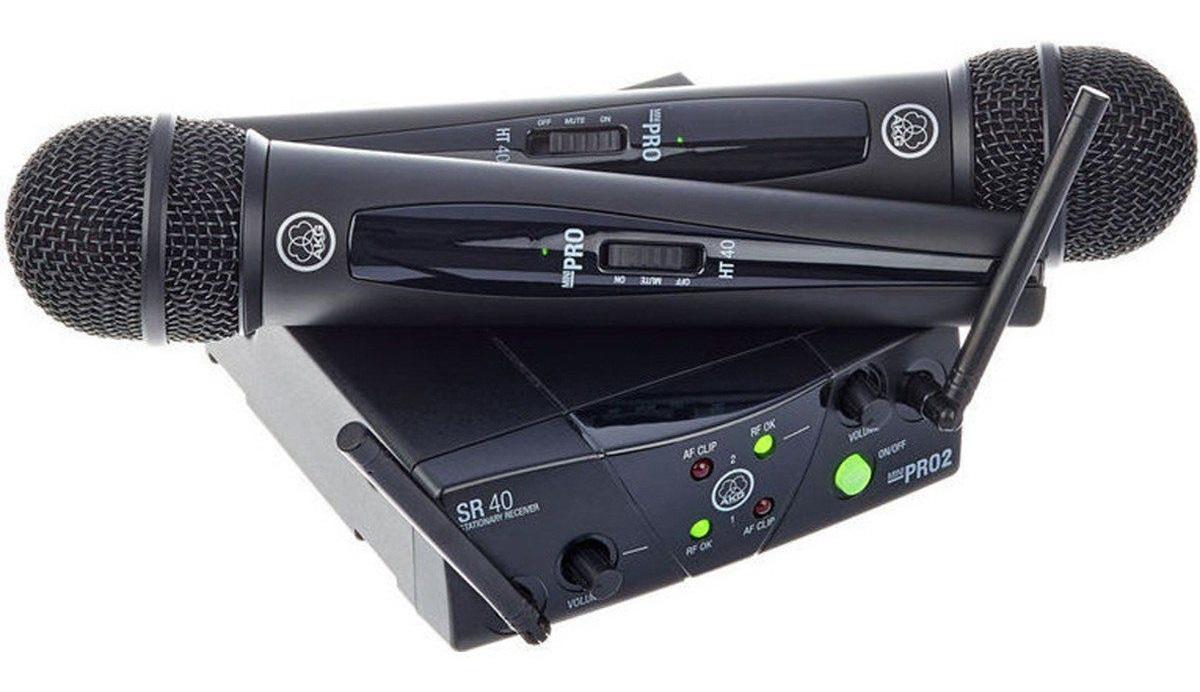 Micro không dây AKG WMS40 MINI2 | Hayaudio.com