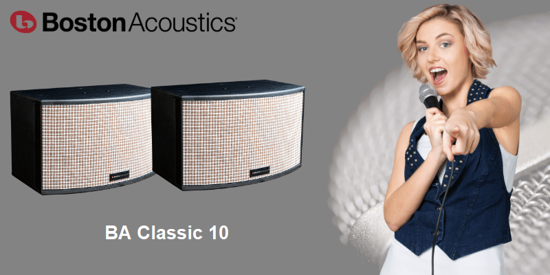 Boston Acoustics BA Classic 10 | hayaudio.com
