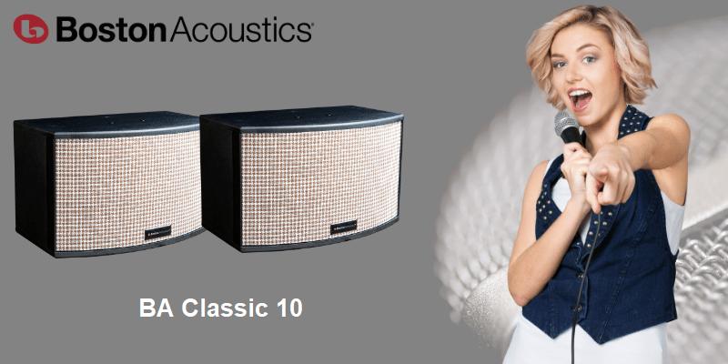 Boston Acoustics BA Classic 10 | Anh Duy Audio