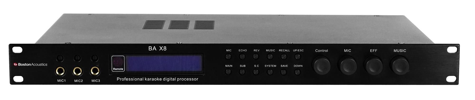 Vang số Boston Acoustics BA X8 | Anh Duy Audio