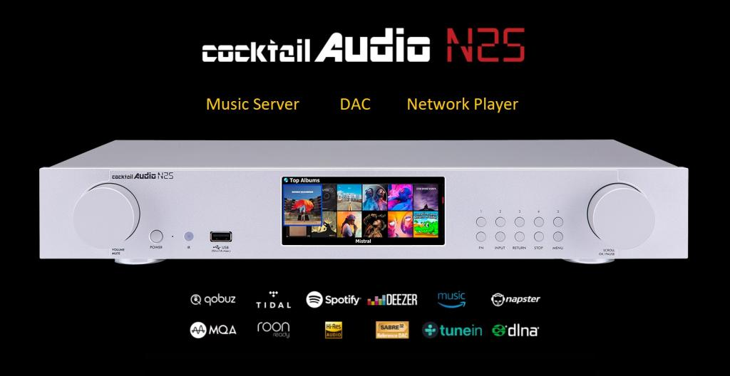 Music Server Cocktail Audio N25 | Anh Duy Audio