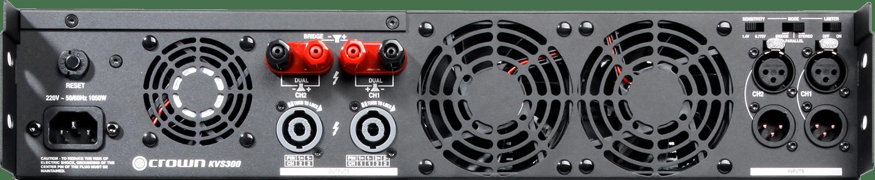 Power Ampli Karaoke Crown KVS300 | Anh Duy Audio