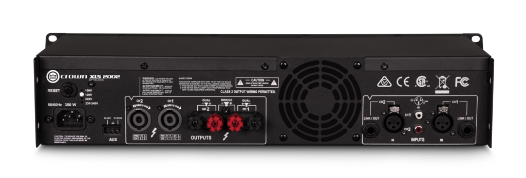 Power Ampli Crown XLS2002   Anh Duy Audio