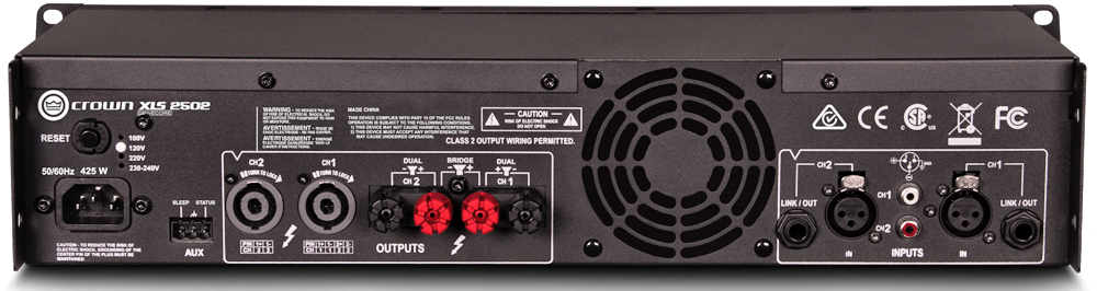 Power Ampli Crown XLS2502 | Anh Duy Audio