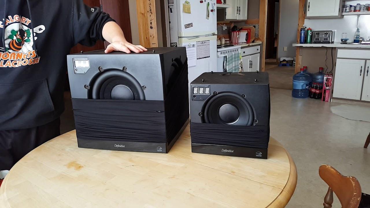 Loa Definitive Technology SuperCube 4000   loa Sub điện Mỹ nghe nhạc - xem phim hay   AnhDuyAudio