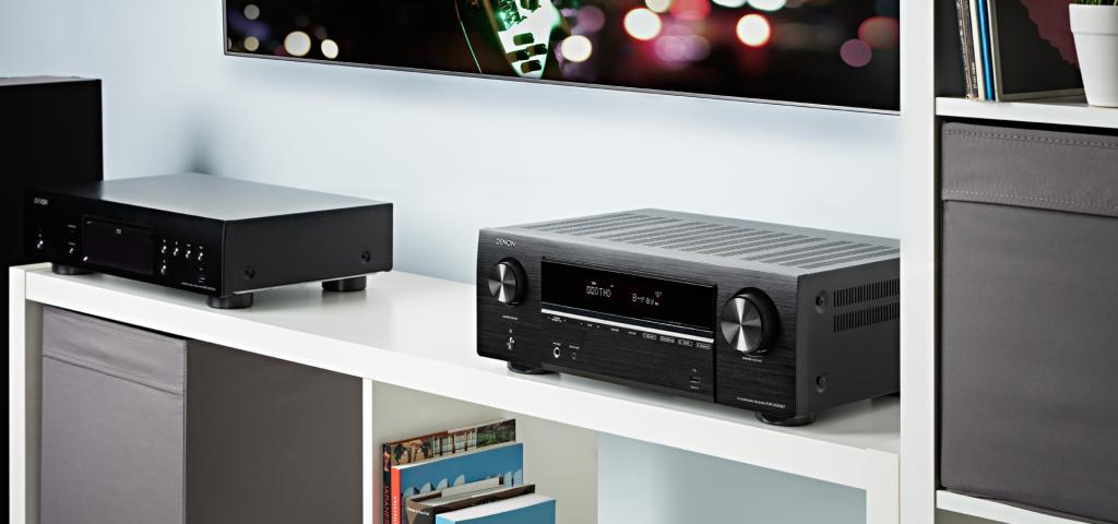 Ampli Denon AVR-X550BT | Anh Duy Audio