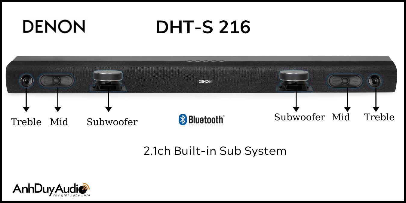 Soundbar Denon DHT-S216 | Anh Duy Audio