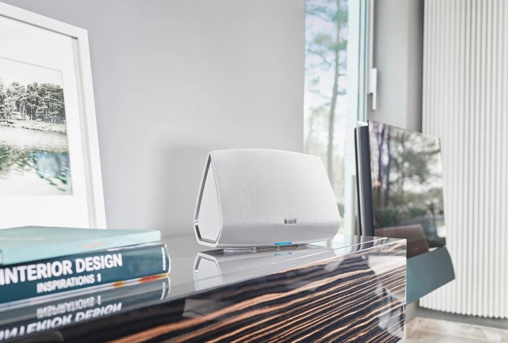 Loa Denon HEOS 5 HS2 | Loa nghe nhạc Bluetooth / Wi-Fi / Hi-Res Audio | Anh Duy Audio