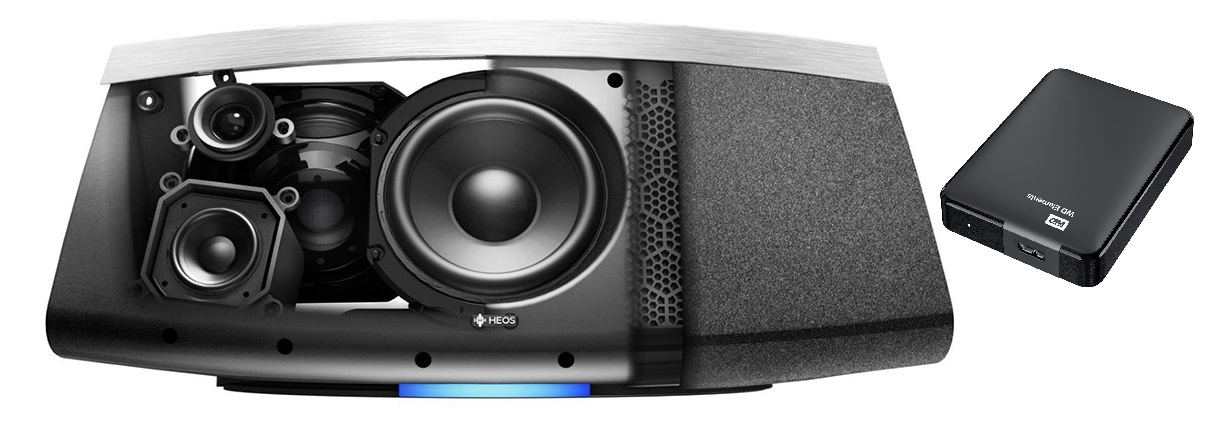 Loa Denon HEOS 7 HS2 | Loa Bluetooth /Wi-Fi / Hi-Res Audio | Anh Duy Audio
