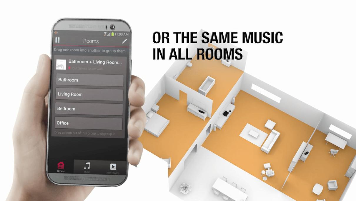 Soundbar Denon HEOS BAR | Loa Soundbar xem phim - nghe nhạc Bluetooth / Wi-Fi / Hi-Res Audio | AnhDuyAudio