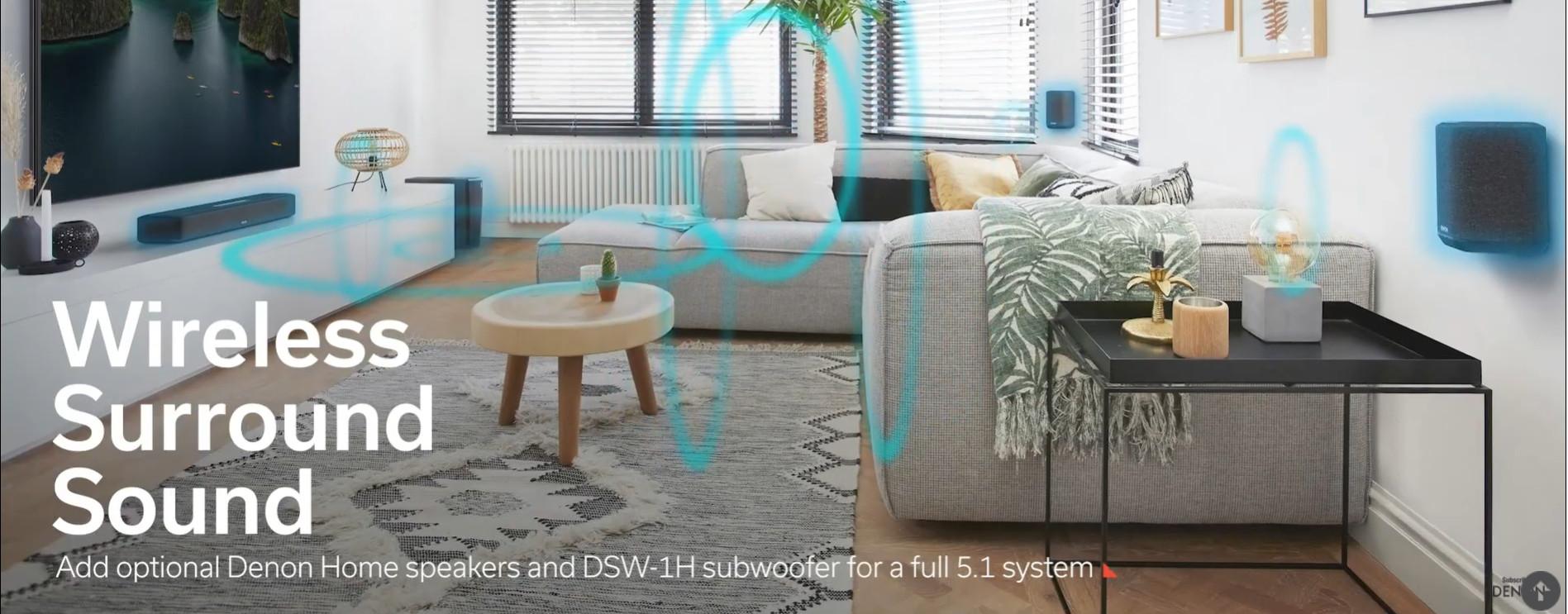 Denon Home Sound Bar 550 | Anh Duy Audio