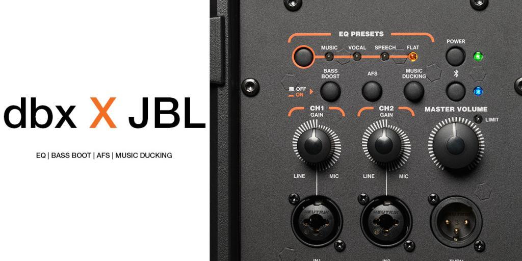 Loa di động Portable PA JBL IRX112BT | Anh Duy Audio