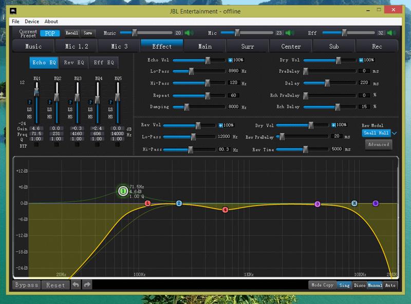 Vang số Mixer JBL KX180 | Anh Duy Audio