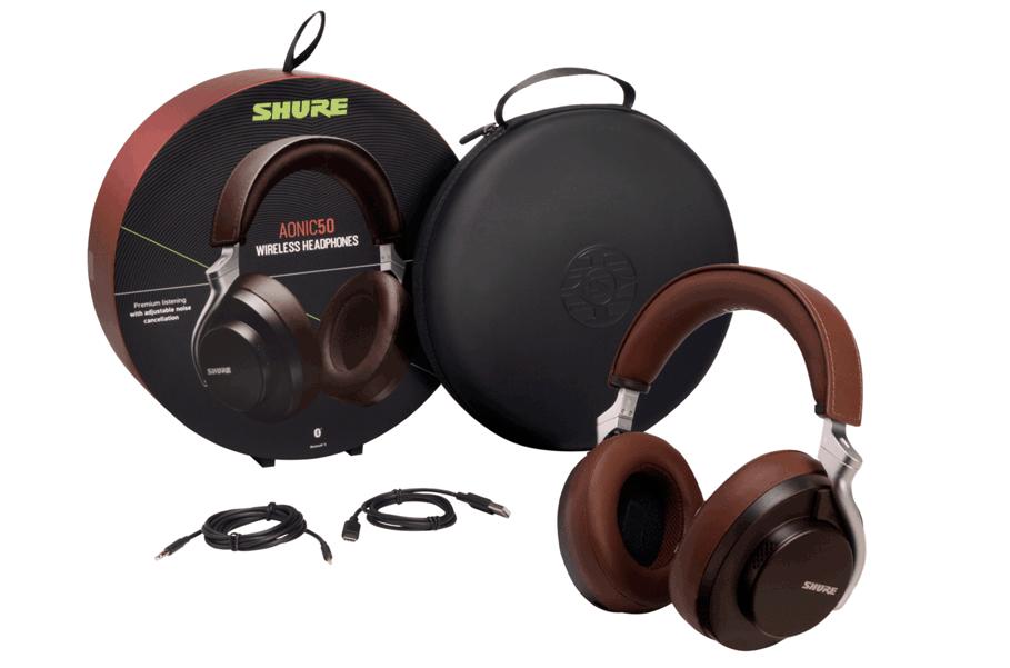 Tai nghe không dây chống ồn Shure AONIC 50-SBH2350 | Anh Duy Audio