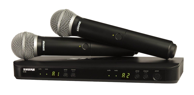 Micro không dây Shure BLX288A/PG58 | Anh Duy Audio