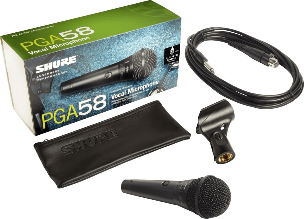 Micro Shure PGA58-QTR | Anh Duy Audio
