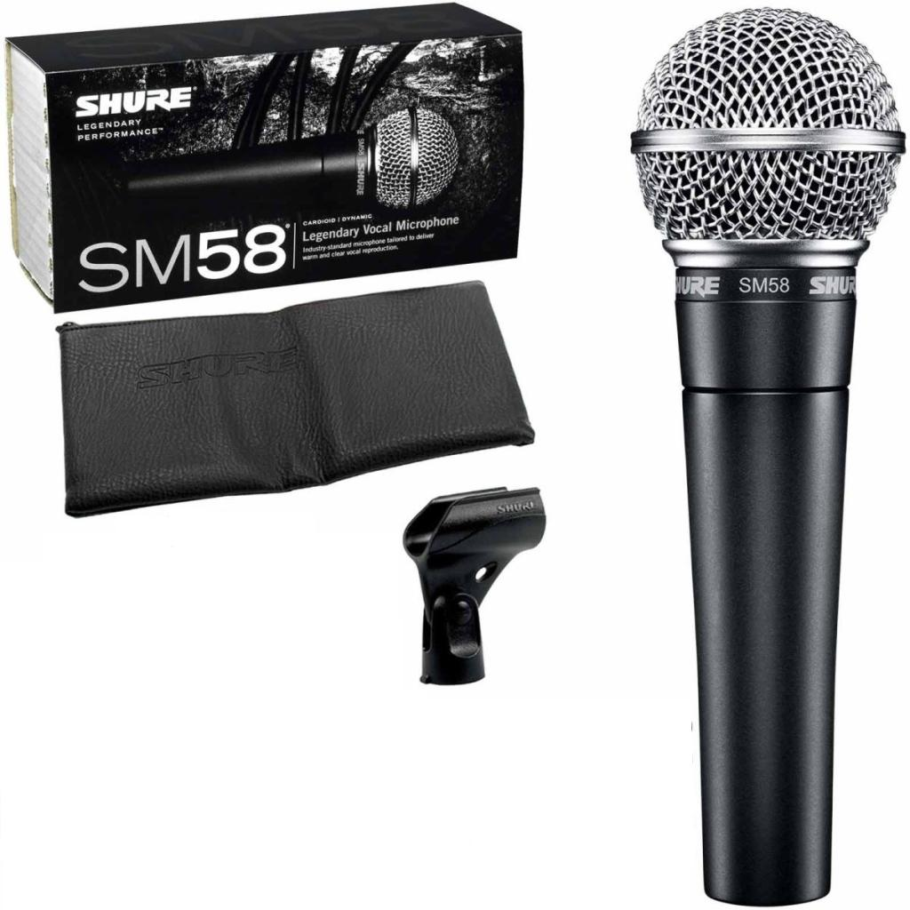 Micro Shure SM58 -LC | Anh Duy Audio