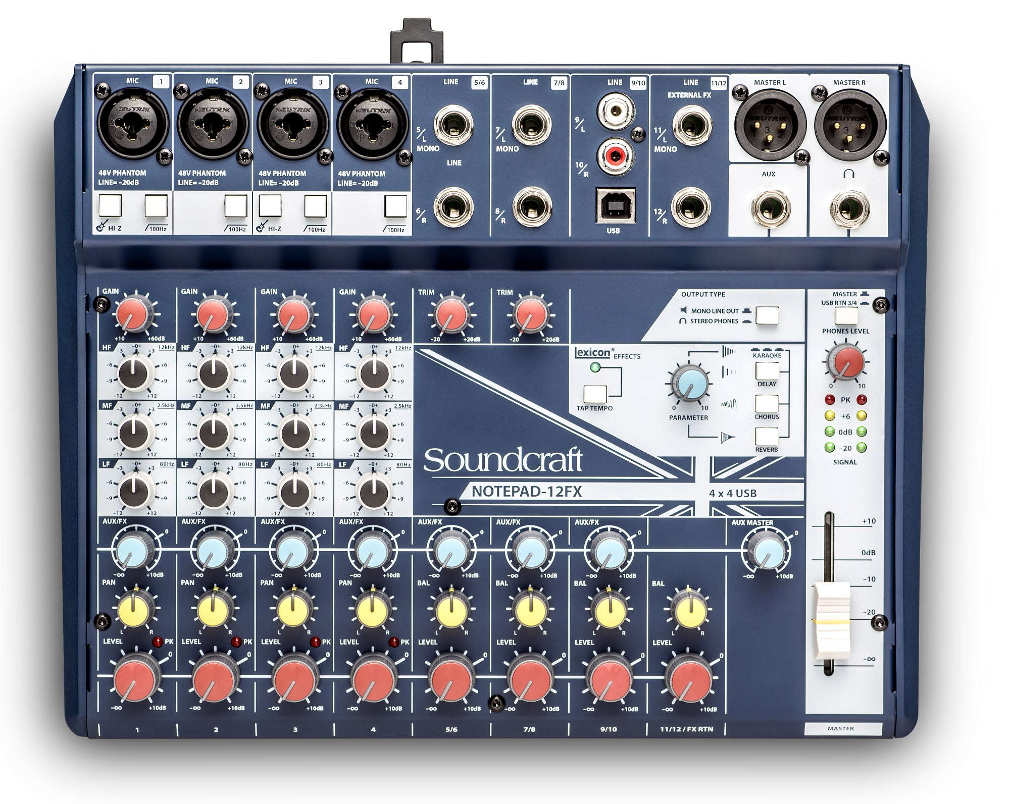 Mixer Soundcraft Notepad-12FX | Anh Duy Audio