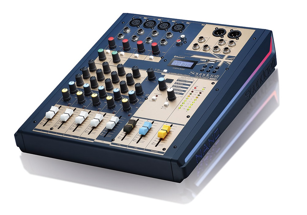 Mixer Soundcraft Nano M08BT | Anh Duy Audio