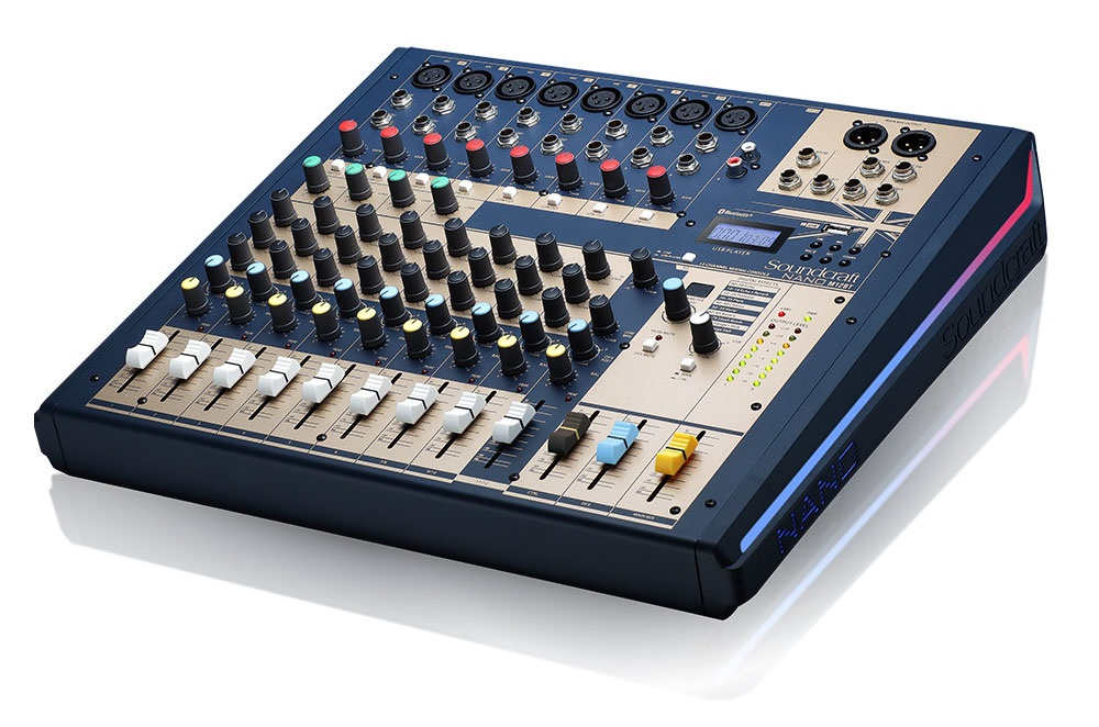 Mixer Soundcraft Nano M12BT | Anh Duy Audio