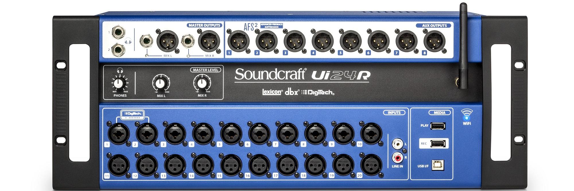 Mixer Soundcraft Ui24R | Anh Duy Audio