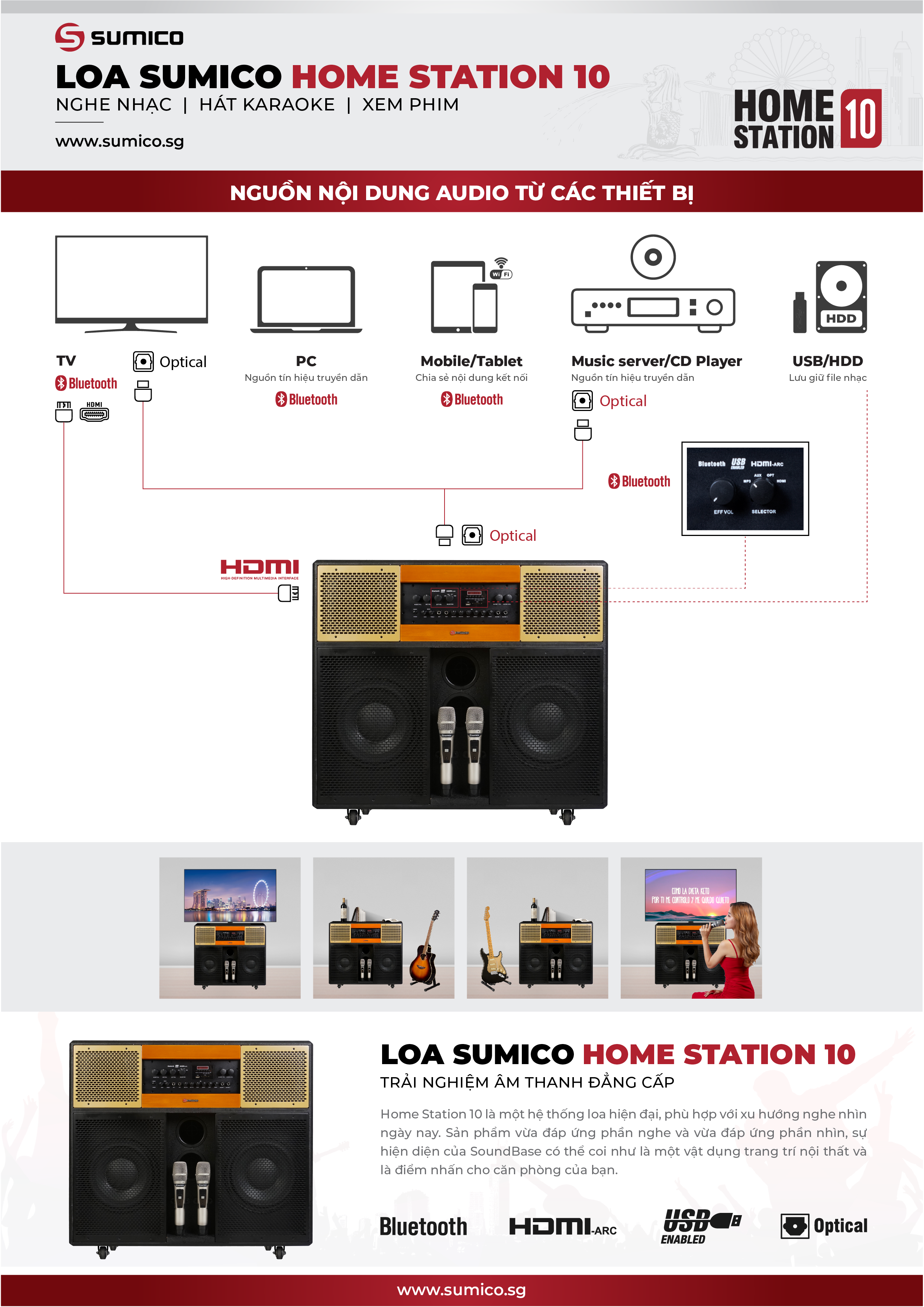 Sumico Home Station 10 | Anh Duy Audio